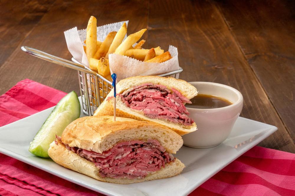 French Dip Sandwich Photo
