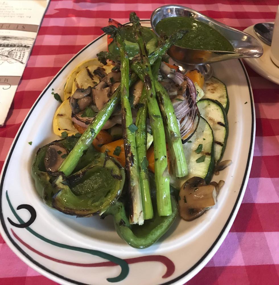 Grilled Seasonal Vegetable Platter Photo