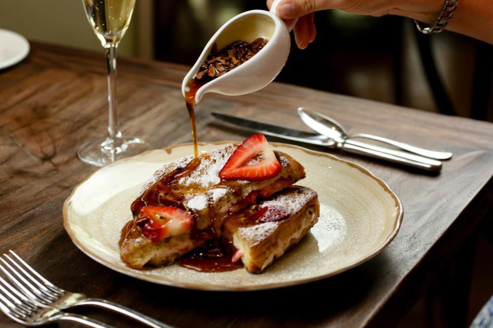 Strawberry French Toast Photo