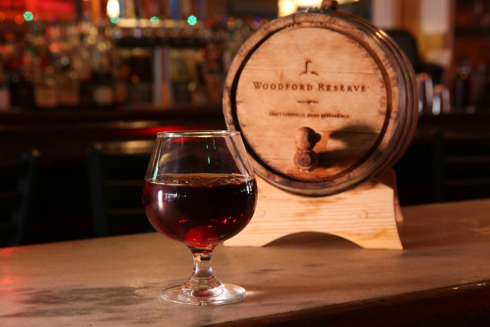 Barrel-Aged Manhattan Photo