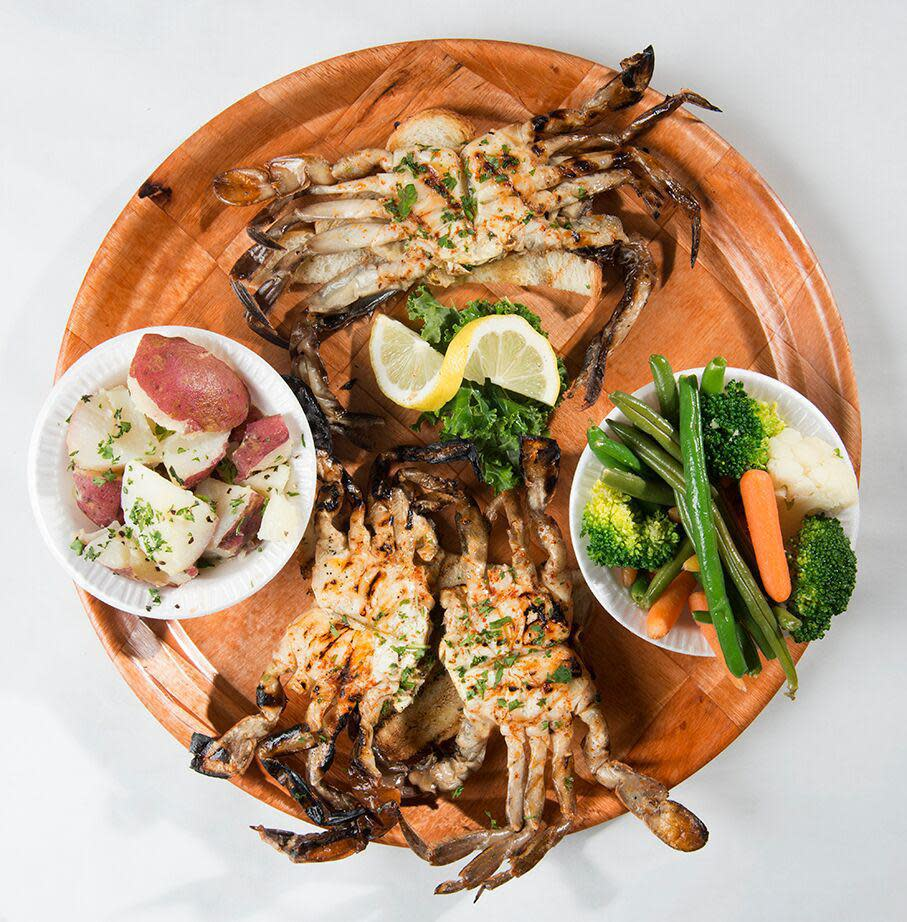 Grilled Soft Shell Crabs Photo