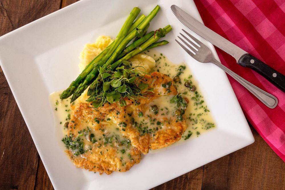 Grilled Chicken Paillard Photo
