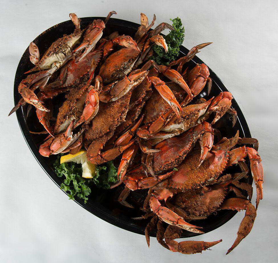 Old Bay Spiced Steamed Crabs (Market Price) Photo
