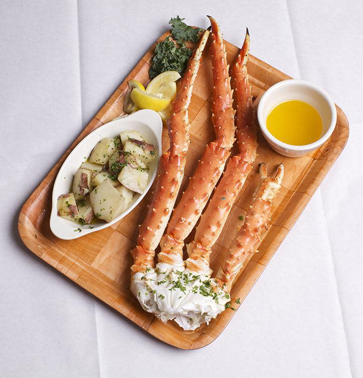 Alaskan King Crab Legs Photo