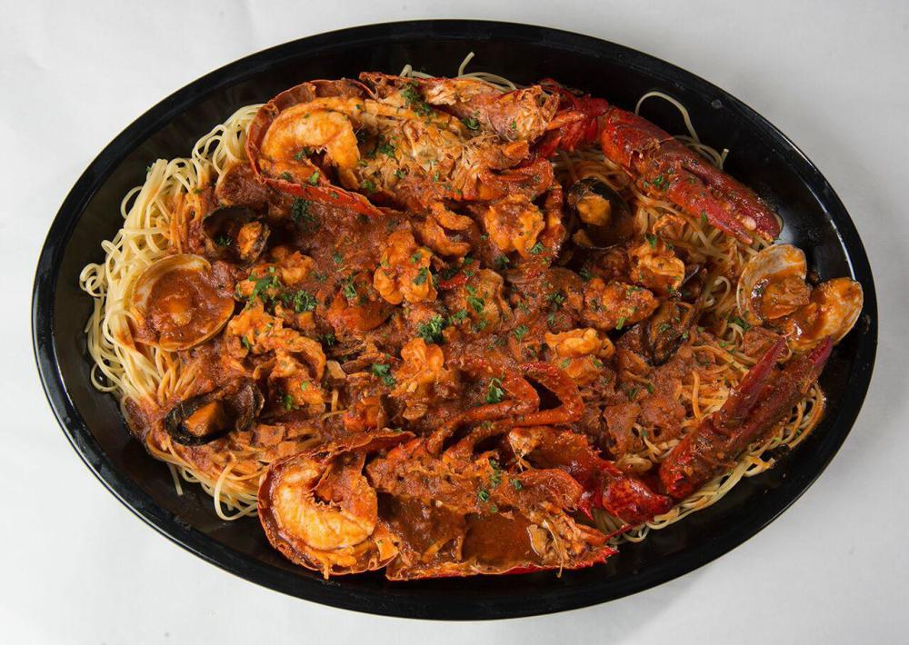 Lobster Fra Diavolo over Linguine Photo