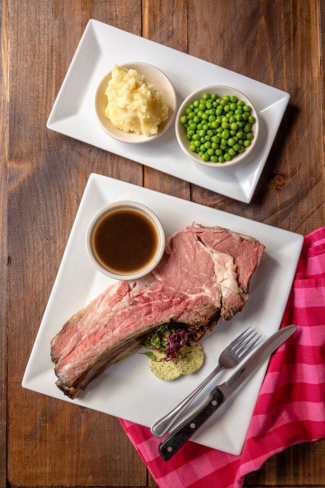 Roast Prime Rib of Beef Photo