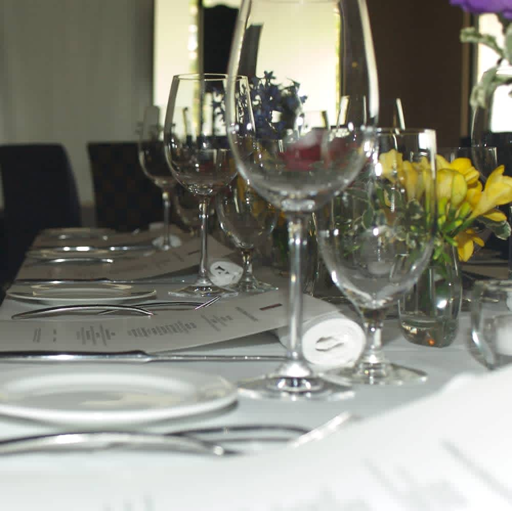 Place Setting at Edge Restaurant