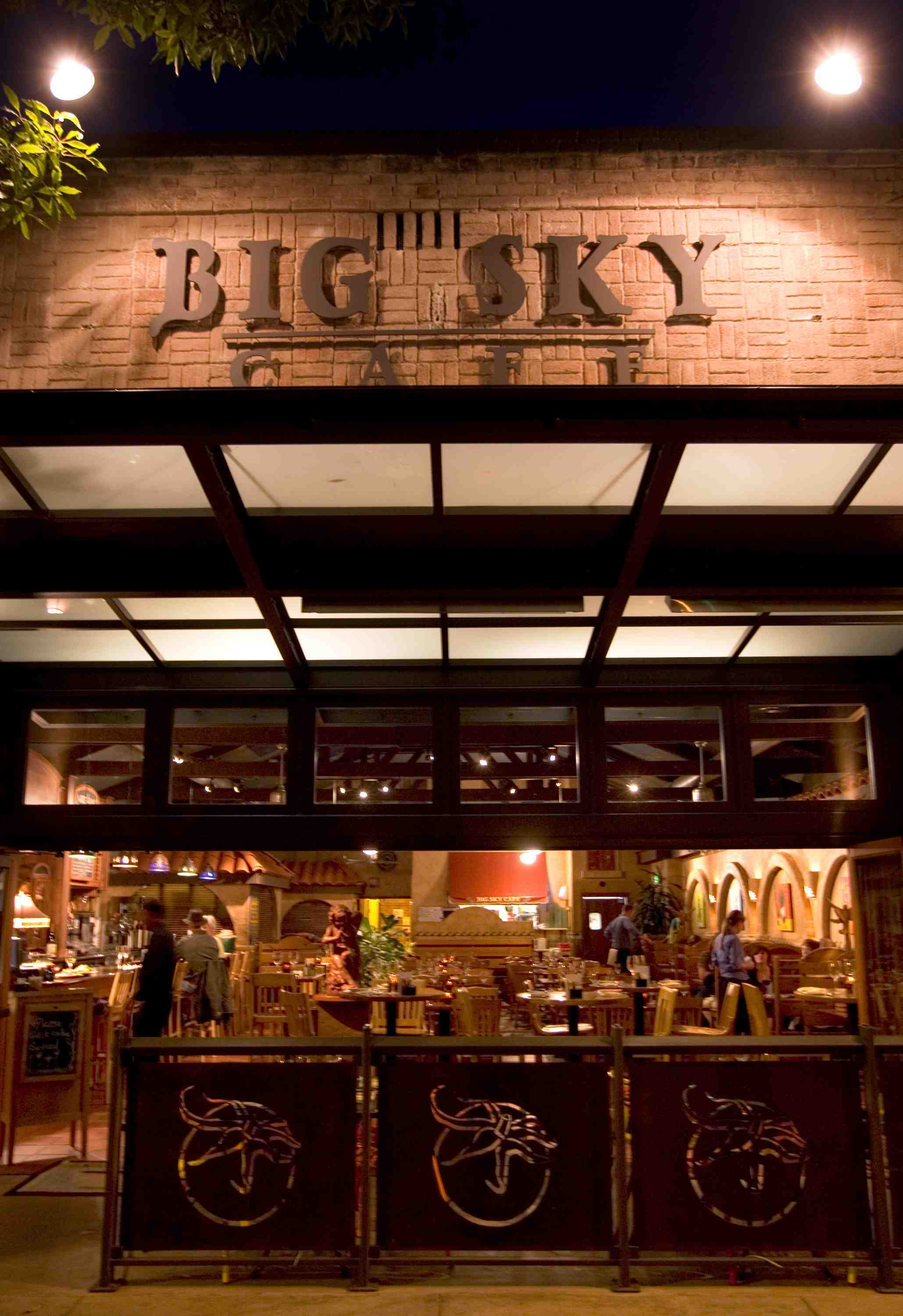 Entrance at Big Sky Cafe