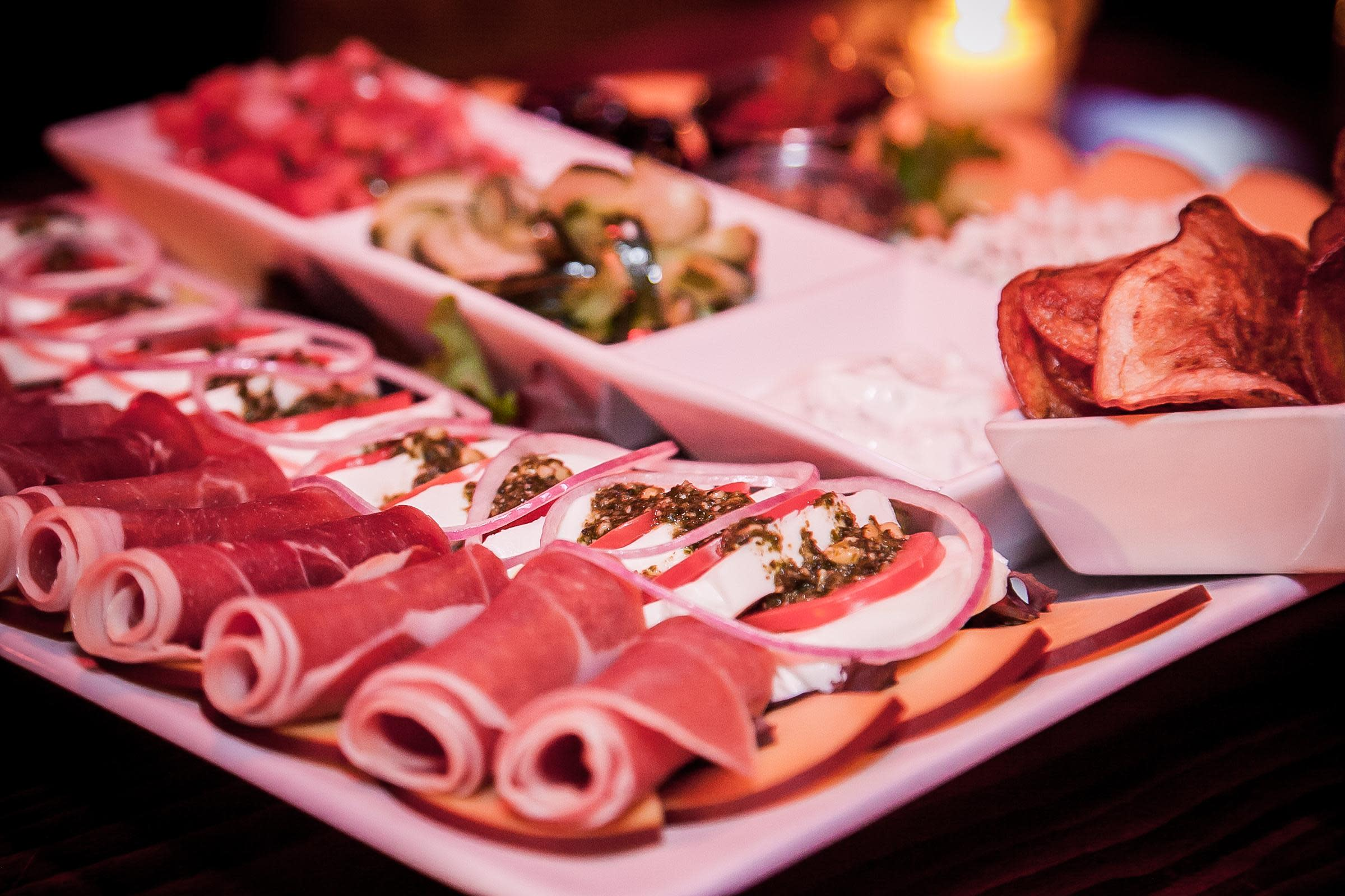 Charcuterie and Cheese Platter at One Lounge