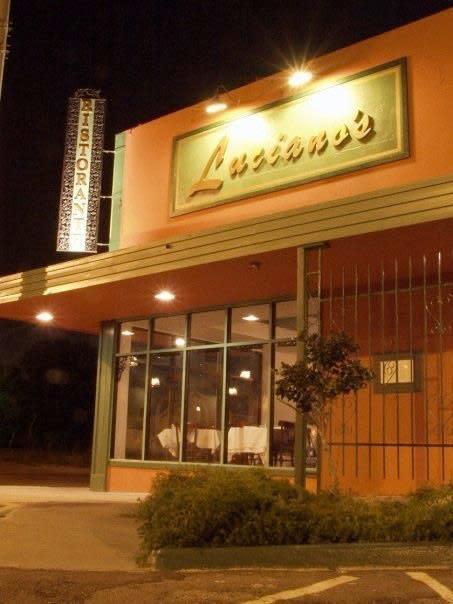 Luciano S Italian Restaurant Menu Reviews Bay Area