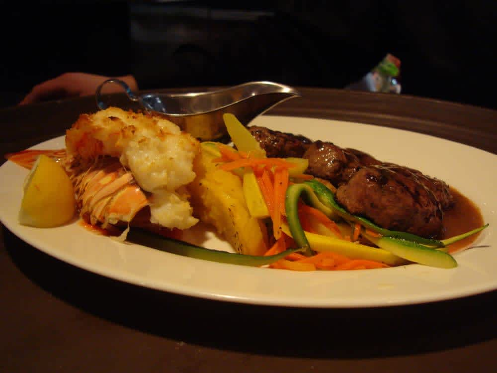 Surf & Turf at Caffe Capri
