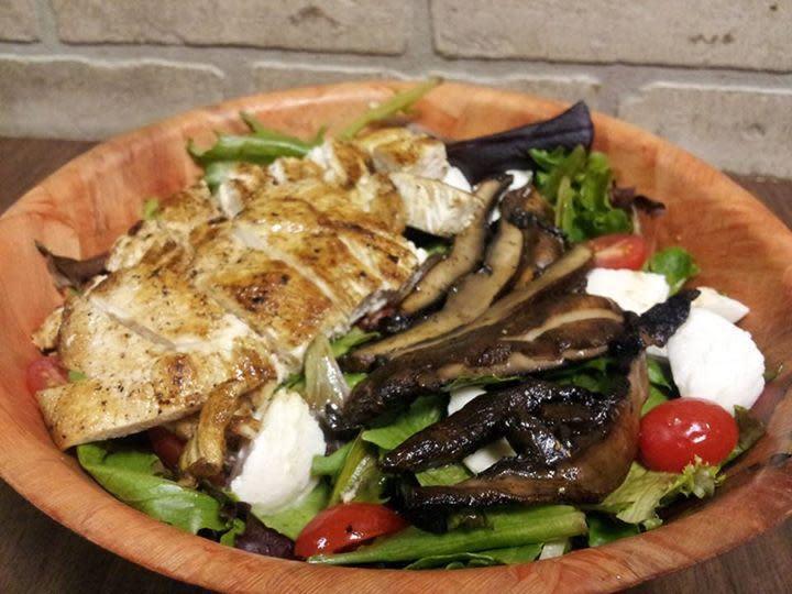 Portobello Salad at Angela's Pizza & Pasta Restaurant