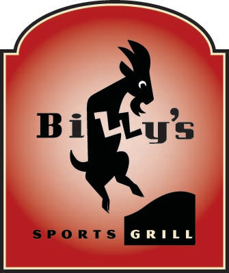 Billy's Logo at Billy's Bar & Grill