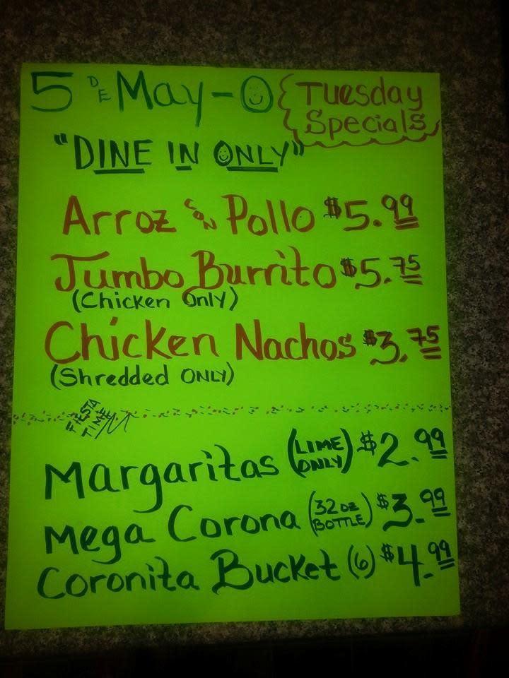 Mexican Food In Martinsville Va