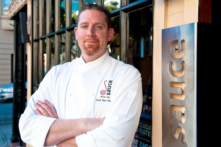 Chef Ben at Miu Miu Bistro & Bar