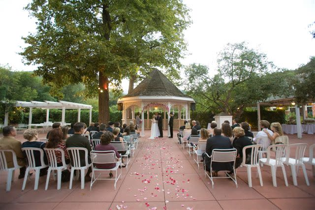 WestWing Terrace Ceremony at Briarhurst Manor