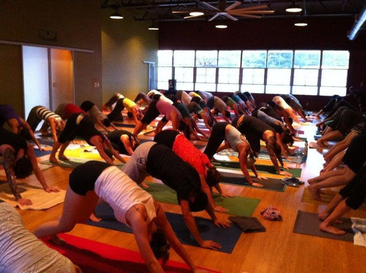 LUV yoga.  LUV CPY at College Park Yoga