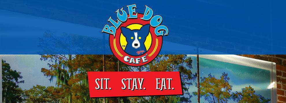 Photo at The Blue Dog Cafe