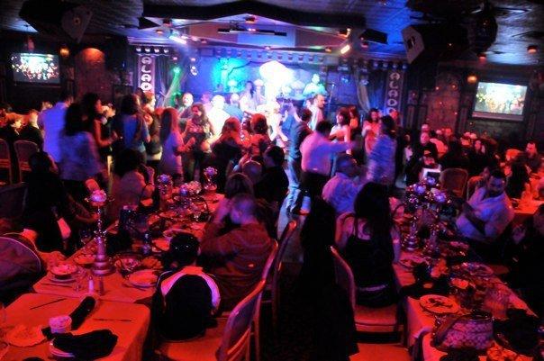 Dance Floor at Aladdin Restaurant
