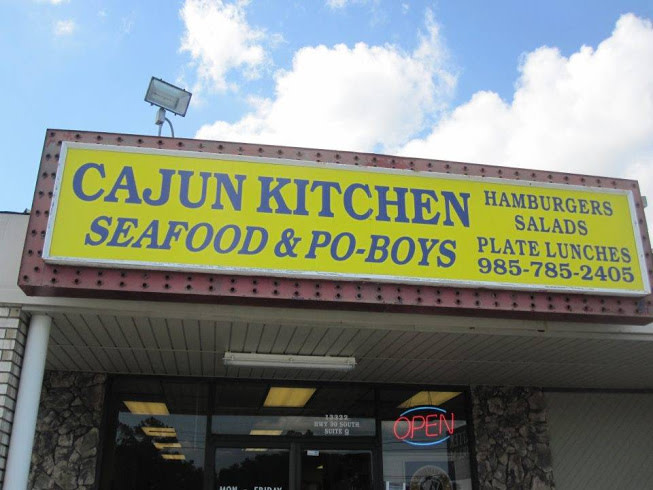Cajun Kitchen Boutte Menu