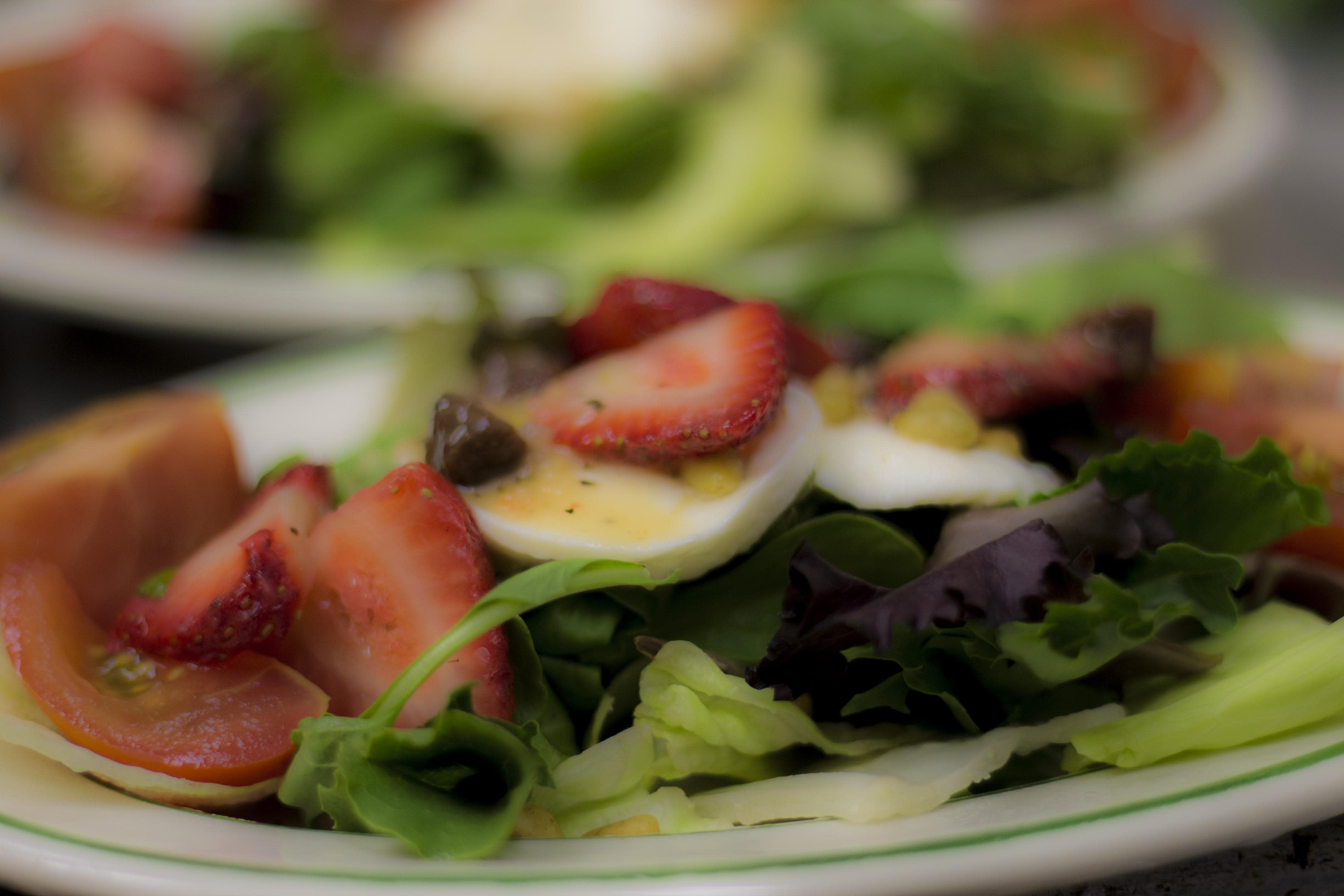 Spring Salad at Birraporetti's