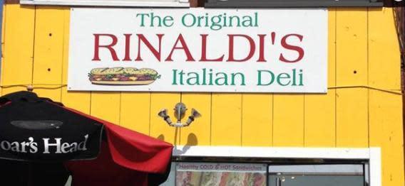 Photo at The Original Rinaldi's Italian Deli