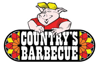 logo at Country's Barbecue