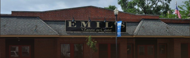 front at Emil's Tavern On Center
