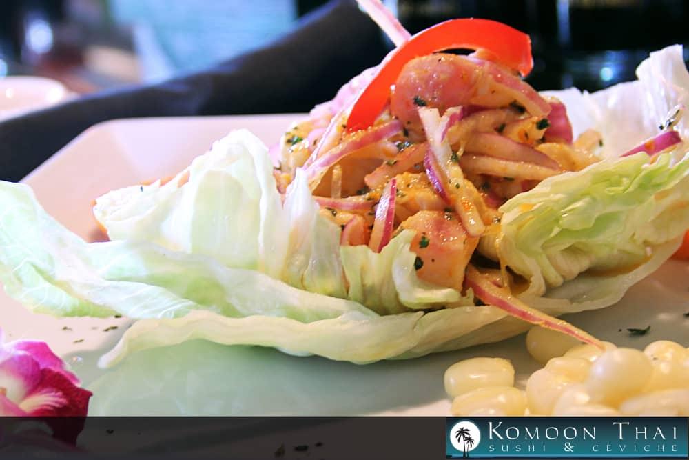Ceviche at Komoon Thai Sushi & Ceviche