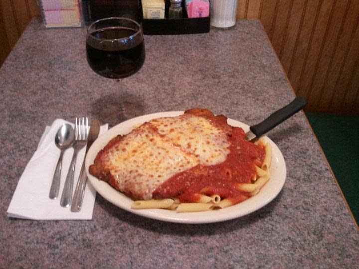 Chicken Parm! at Laura's Pleasant View Diner