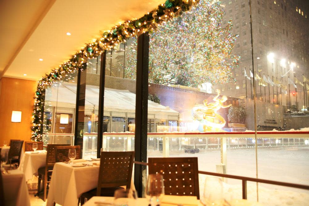 The Sea Grill At 19 W 49th St Rockefeller Center New
