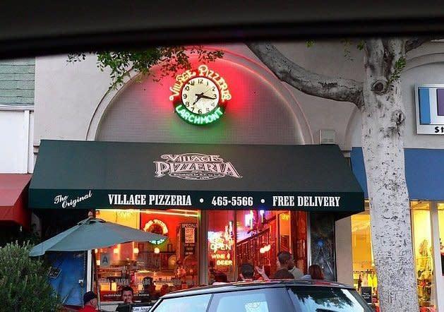 village pizza at Village Pizzeria