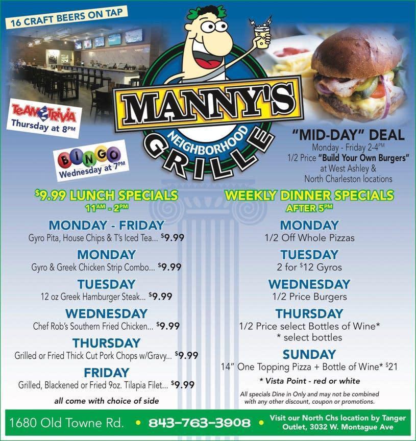 Photo at Manny's Mediterranean Cafe