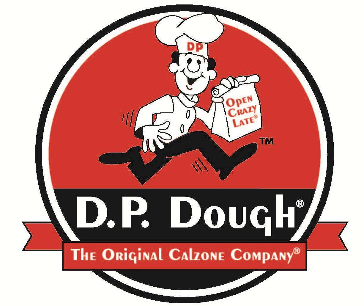 DP Dough Logo at D.P. Dough