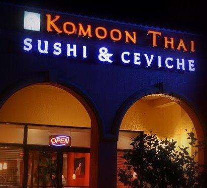 Komoon at Komoon Thai Sushi & Ceviche