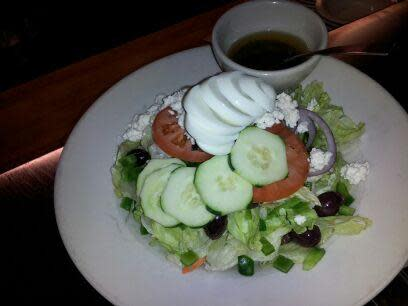 Greek Salad at Matthew's East End Grill