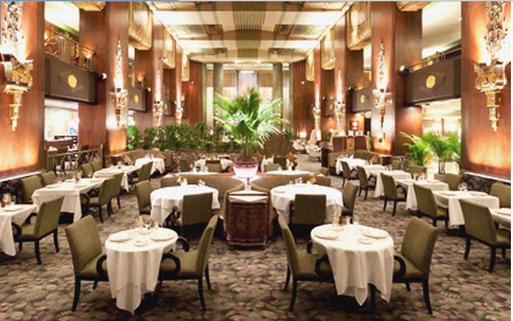 Photo at Orchids at Palm Court Hilton Netherland Plaza