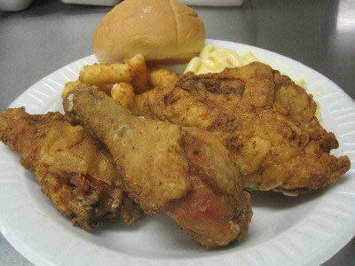 Secret Recipe Fried Chicken at Raub's Twin Kiss