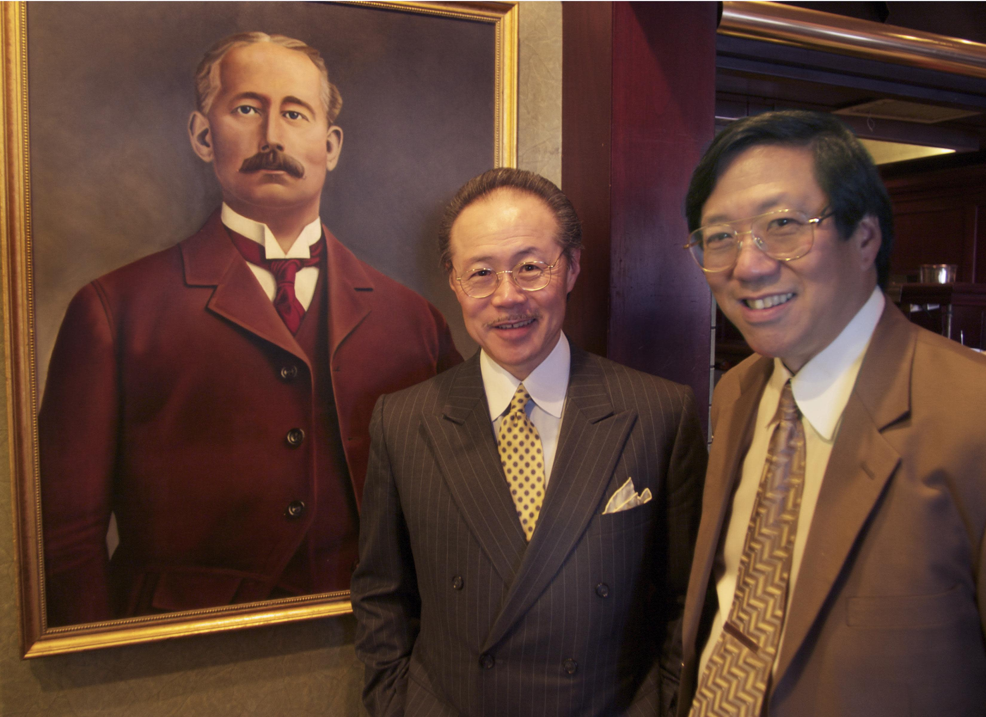 Proprietors at Huber's Restaurant