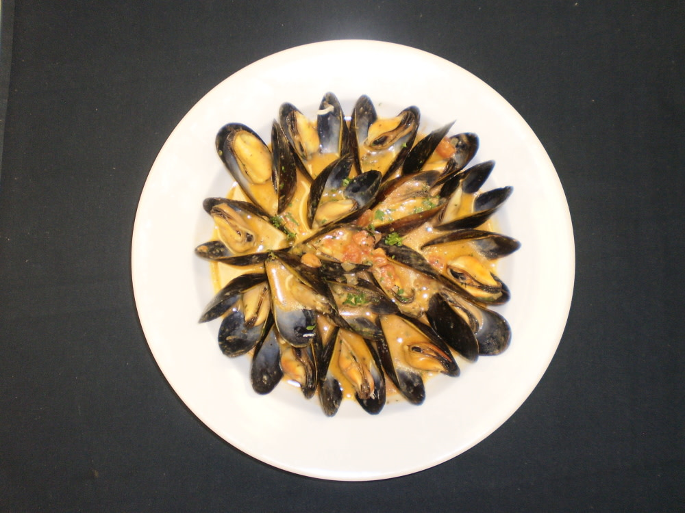 Mussels at Saint-Jacques