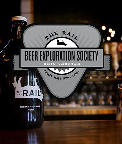 Beer Exploration Society meets for monthly tasting adventures. at The Rail
