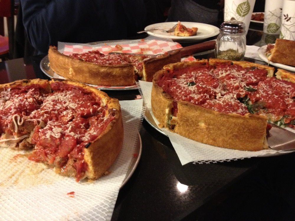 More awesome deep dish pies! at Union Pizza Company