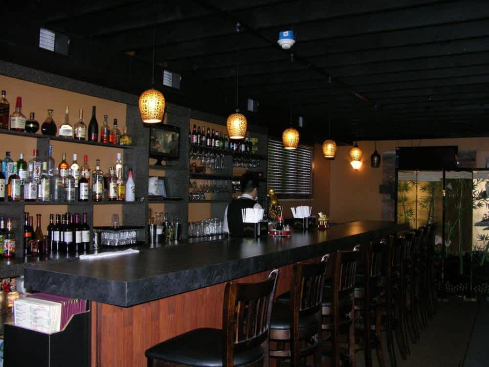 Full bar! Come have a drink with us! at Bamboo House