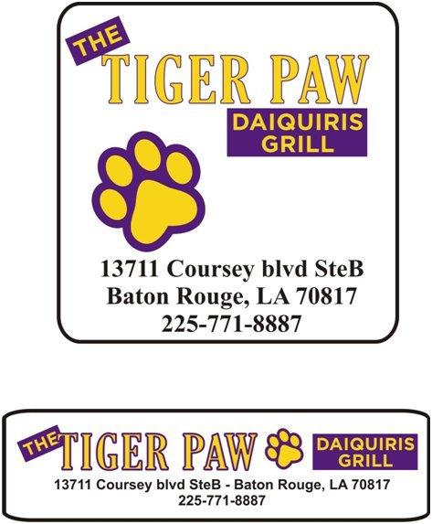 tiger at Tiger Paw Daiquiri & Grill