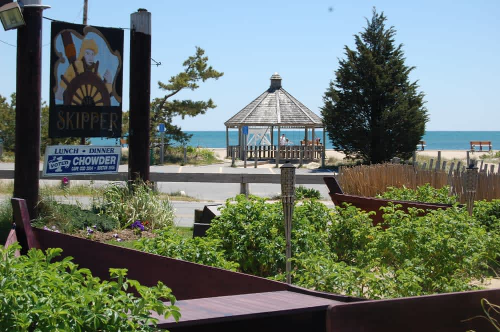 Superb Skippers Cape Cod Part - 9: At The Beach At Skipper Restaurant-Bass River