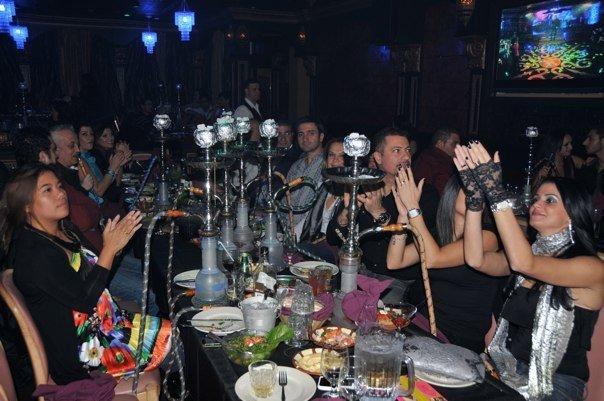 Happy Customers at Aladdin Restaurant