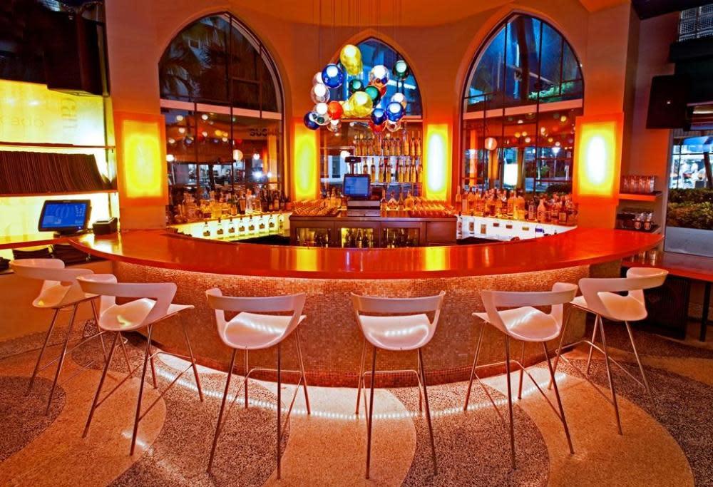 Bar Area at SUSHISAMBA