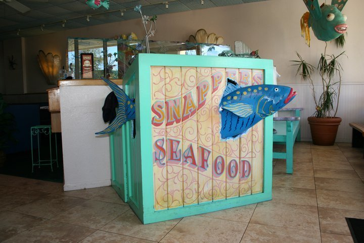 snaper at Snappers Seafood & Pasta