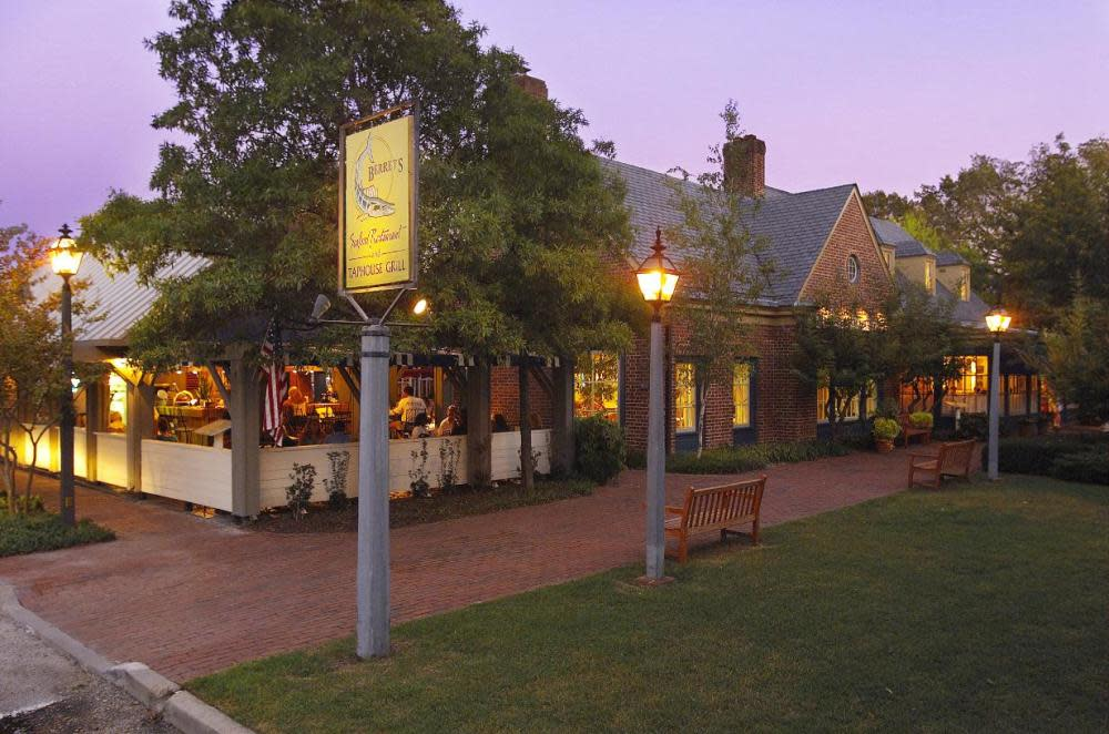 Berret S Restaurant Williamsburg Virginia
