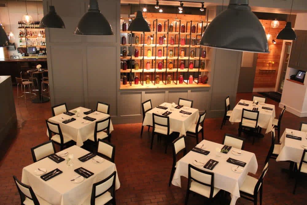 Dining Room at Mandolin